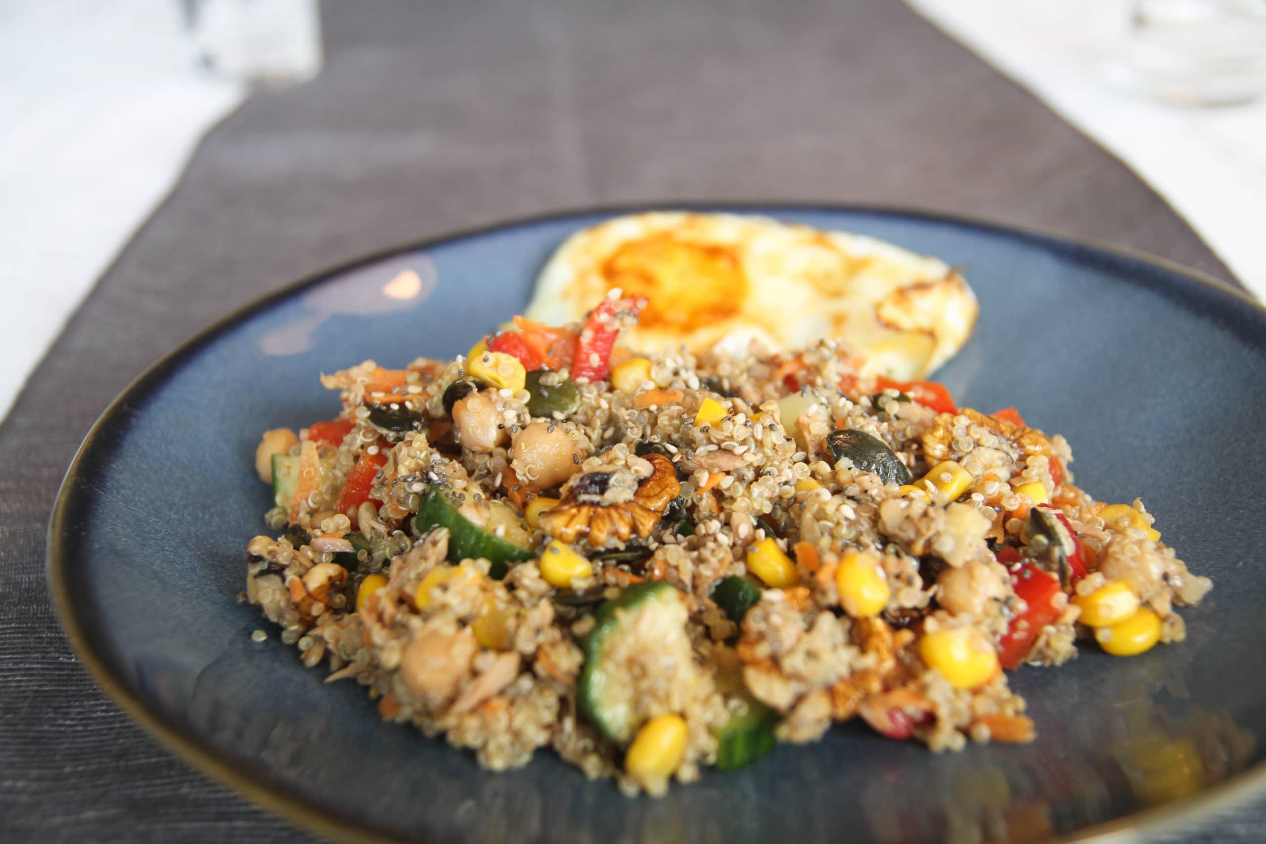 Quinoa with Tuna