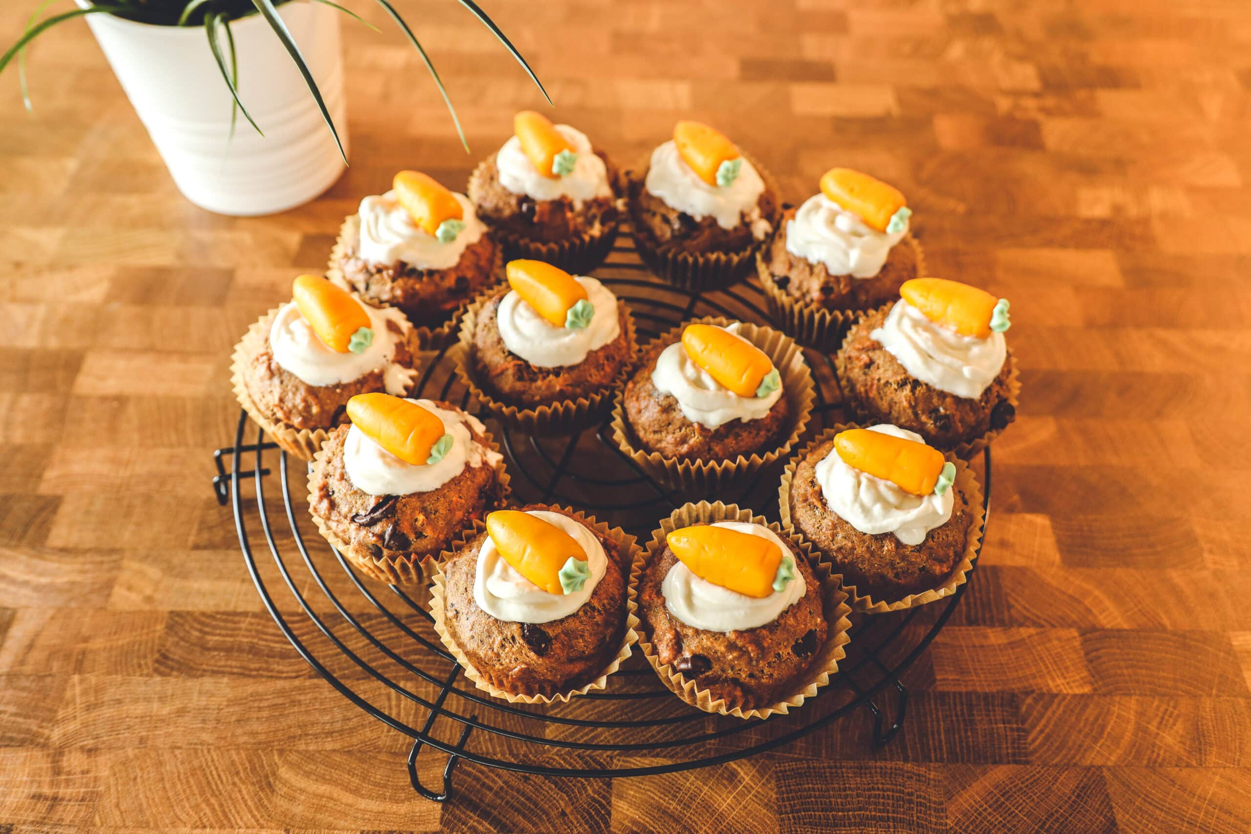 Best Carrot Cupcakes Recipe