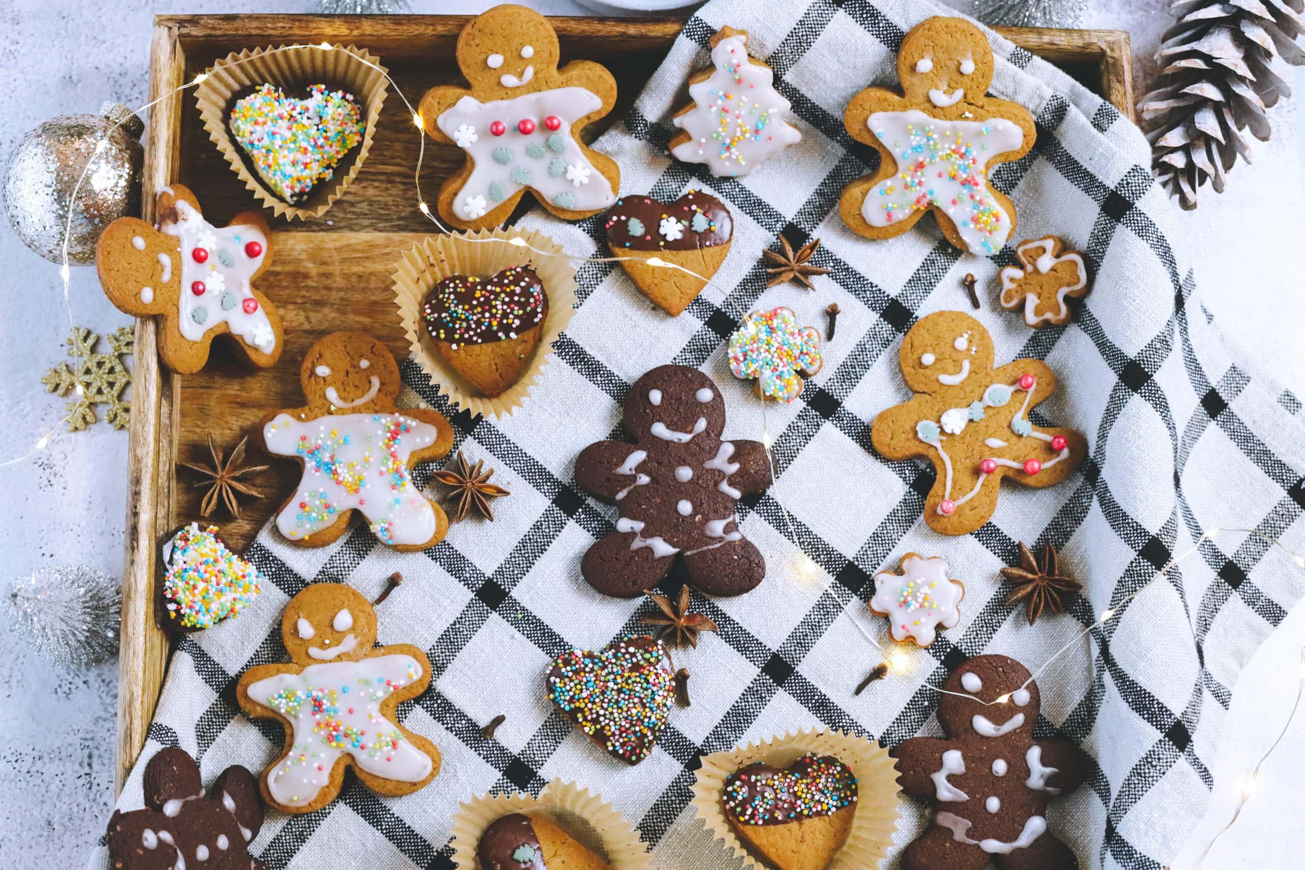 Vegan Christmas Sugar Cookies