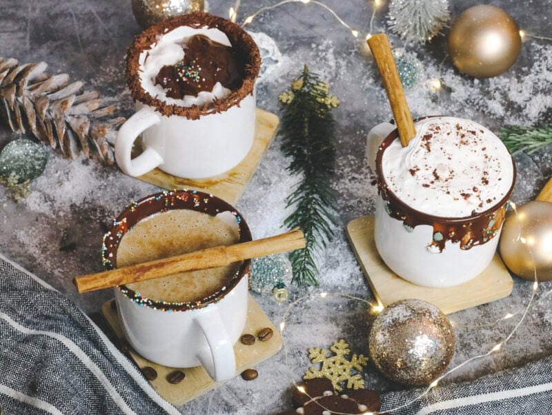 Warm Drink In Christmas