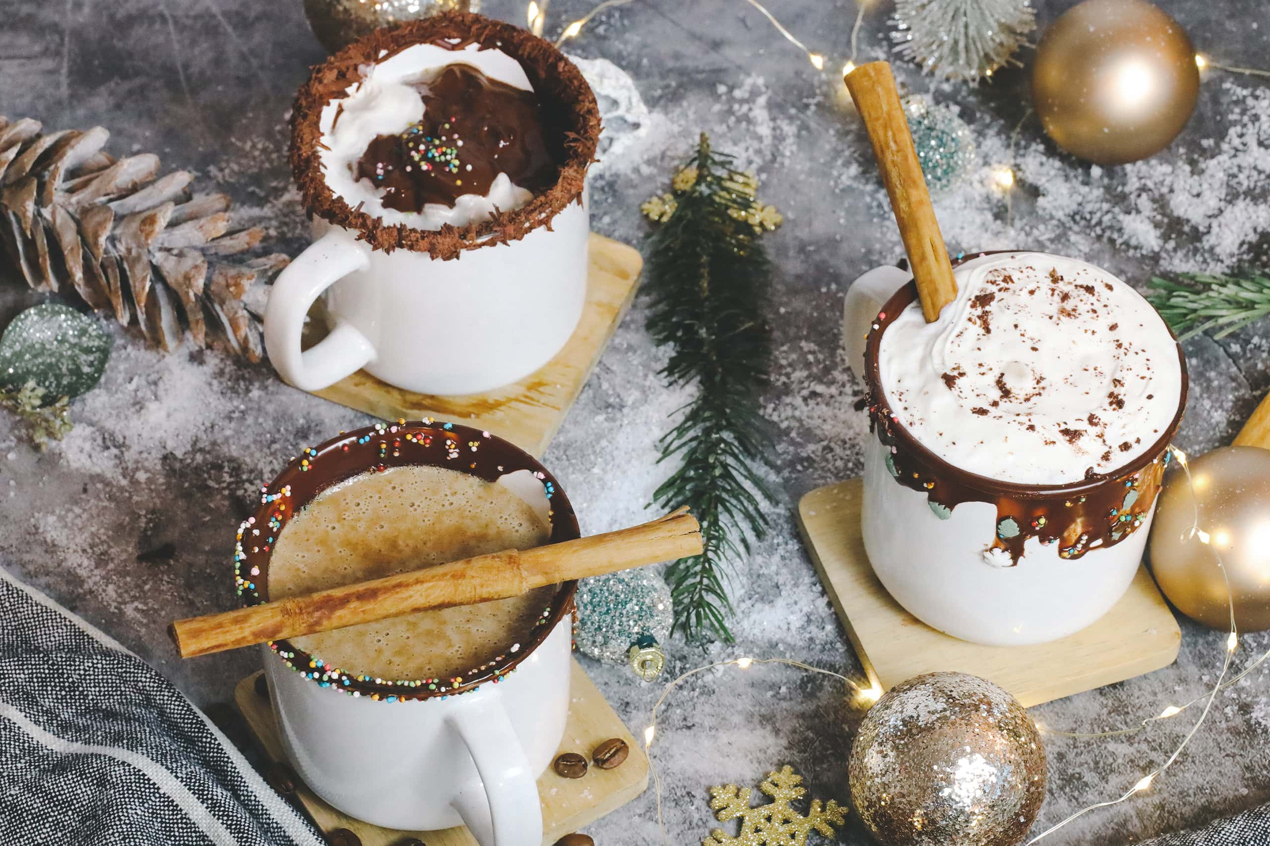 3 warm cozy drink ideas