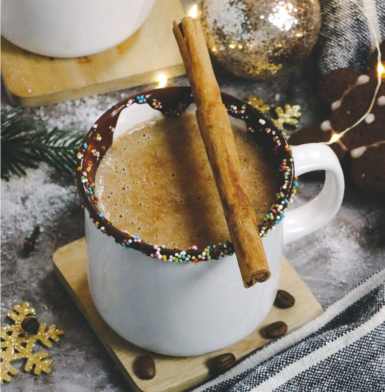 Hazelnut Latte Drink