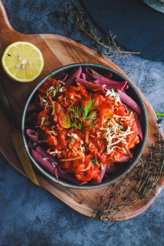 Red sauce recipe, pasta recipes