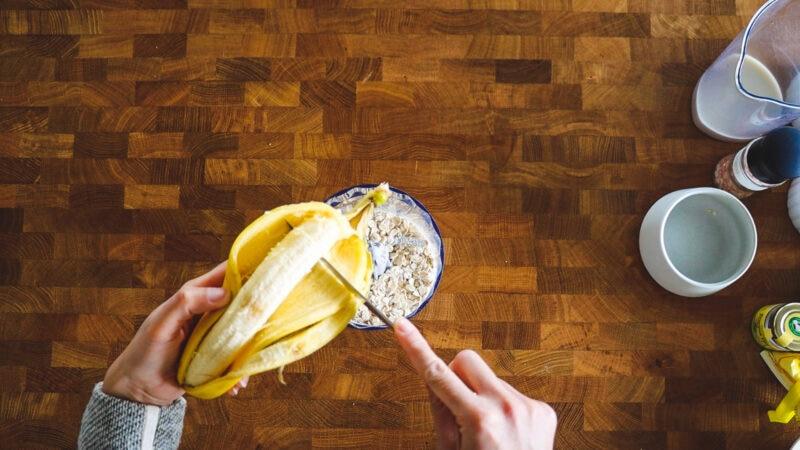 banana oats healthy easy
